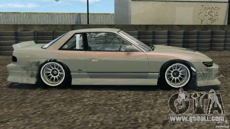 Nissan Silvia S13 DriftKorch [RIV] for GTA 4 left view