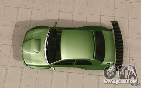 Subaru Impreza STI for GTA San Andreas right view