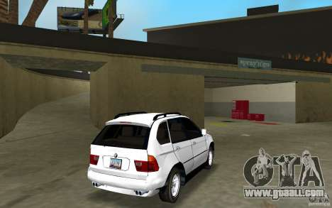 BMW X5 for GTA Vice City right view