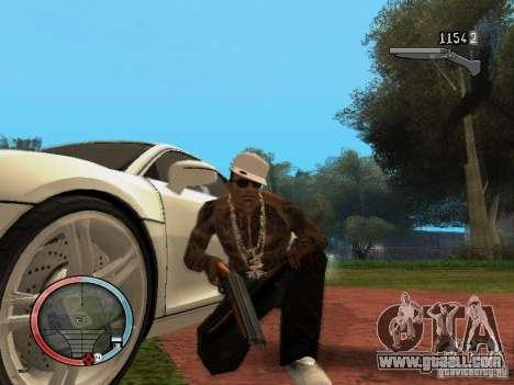 GTA IV HUD Final for GTA San Andreas