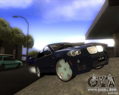 BMW X5 dubstore for GTA San Andreas upper view