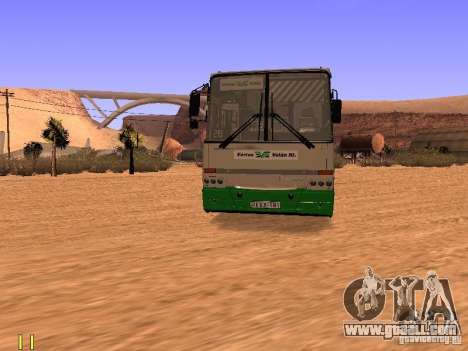 Ikarus C63 for GTA San Andreas right view