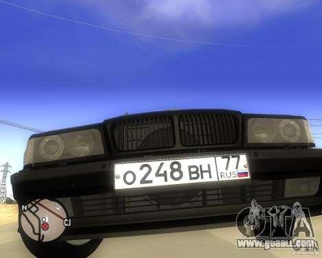 BMW 740il e38 for GTA San Andreas right view