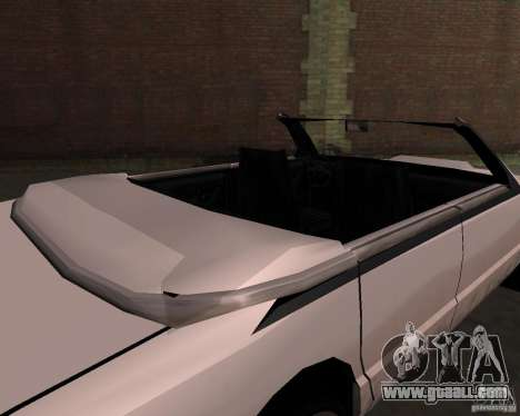Taxi Cabrio for GTA San Andreas right view