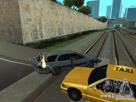 The realistic blast machines for GTA San Andreas