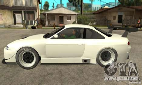 Nissan Silvia S14 GT for GTA San Andreas left view