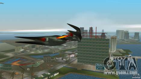 VX 574 Falcon for GTA Vice City back left view