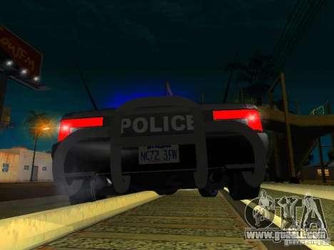 San-Fierro Sultan Copcar for GTA San Andreas side view