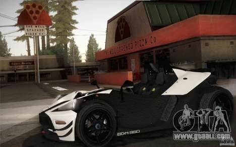 KTM-X-Bow for GTA San Andreas inner view