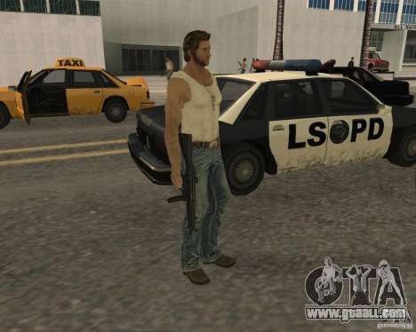 Skin Wolwerine for GTA San Andreas second screenshot