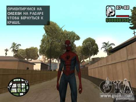 Spider-man 2099 for GTA San Andreas second screenshot