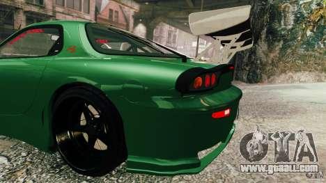 Mazda RX-7 for GTA 4 right view