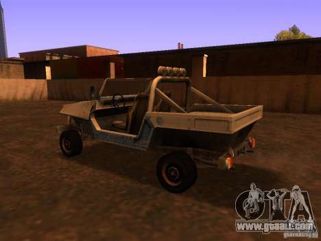 Pickup truck from T3 for GTA San Andreas right view