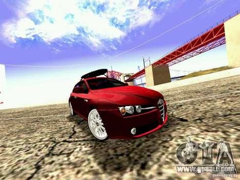 Alfa Romeo 159 Sportwagon for GTA San Andreas right view