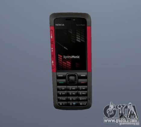 Nokia 5130 XM for GTA Vice City