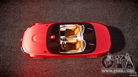 Mazda Miata MX5 Superlight 2009 for GTA 4 right view