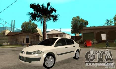 Renault Megane II Sedan for GTA San Andreas