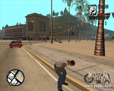 Endorphin Mod v.3 for GTA San Andreas