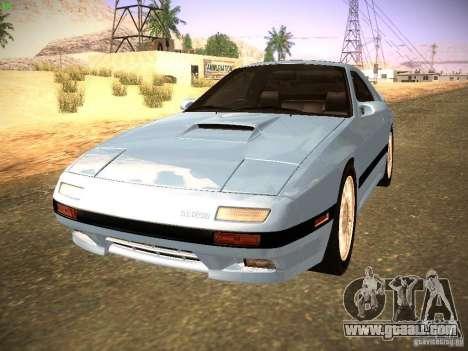 Mazda RX-7 FC3S for GTA San Andreas