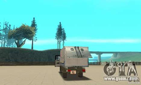 ZIL 433112 with tuning for GTA San Andreas inner view