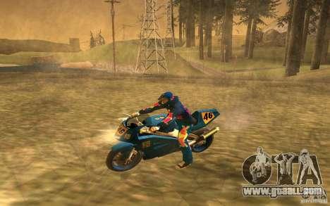 Red Bull Clothes v1.0 for GTA San Andreas eighth screenshot