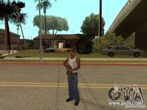 Light Machine Gun Dâgterëva for GTA San Andreas seventh screenshot