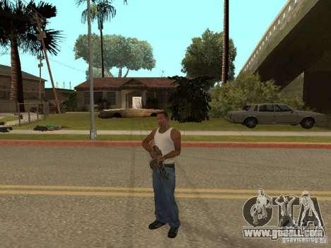 Light Machine Gun Dâgterëva for GTA San Andreas seventh screenshot