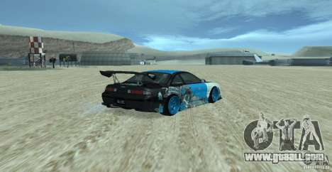 Nissan Silvia S14 NonGrata for GTA San Andreas left view