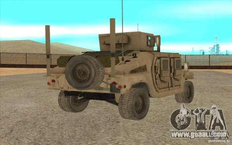 Hummer H1 Military HumVee for GTA San Andreas left view