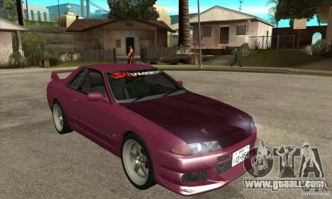 Nissan R32 JDM for GTA San Andreas back view