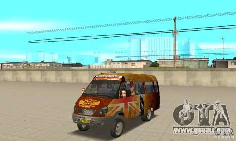 Gazelle kulnev obezbašennaâ for GTA San Andreas