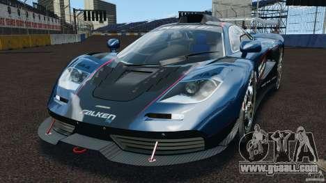 McLaren F1 ELITE for GTA 4