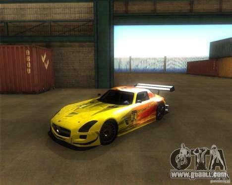 Mercedes SLS AMG - SpeedHunters Edition for GTA San Andreas