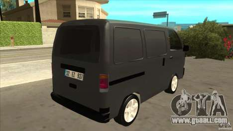 Suzuki Carry Blind Van 1.3 1998 for GTA San Andreas right view