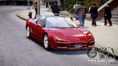 Acura NSX 1991 for GTA 4