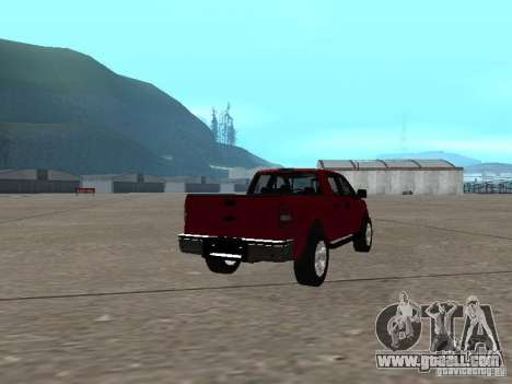 Ford F-150 2005 for GTA San Andreas right view