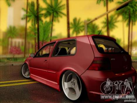 Volkswagen Golf Street for GTA San Andreas left view
