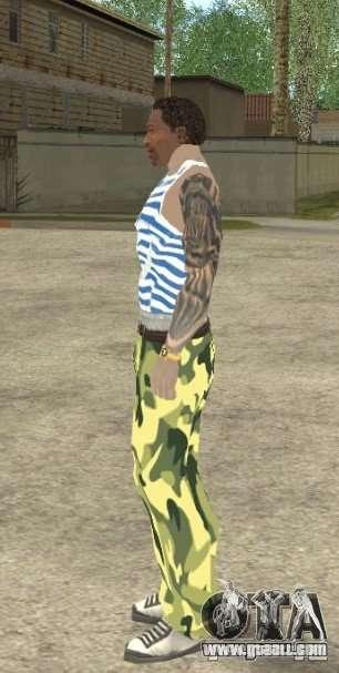 CJ VDV for GTA San Andreas fifth screenshot