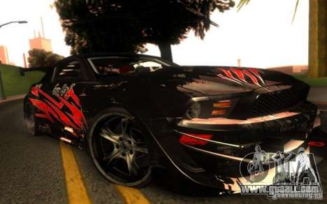 Ford Mustang Shelby GT500 V1.0 for GTA San Andreas