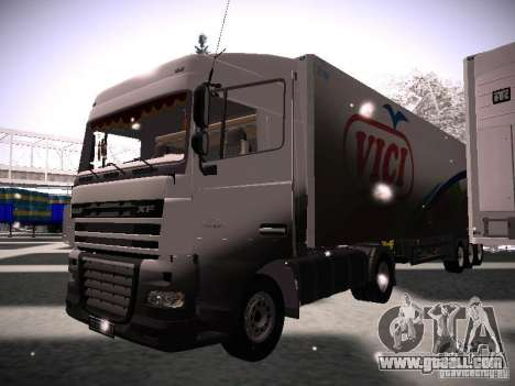 DAF XF105 for GTA San Andreas left view