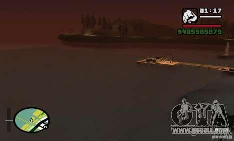 0.075 ENBSeries (just water) for GTA San Andreas seventh screenshot