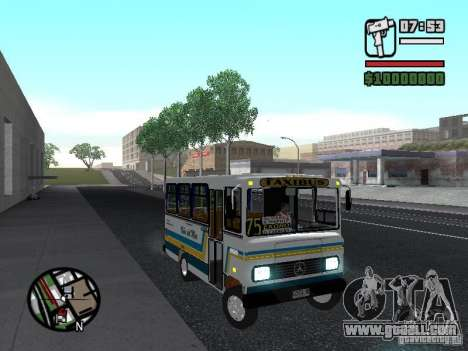 Cuatro Ases M.Benz LO608D for GTA San Andreas side view