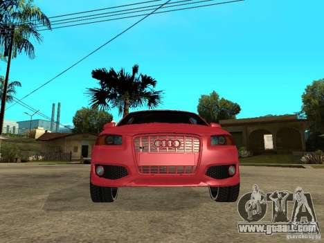 Audi S3 2006 Juiced 2 for GTA San Andreas right view