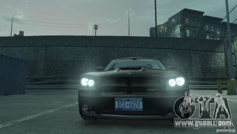 Dodge Charger 2007 SRT8 for GTA 4 right view