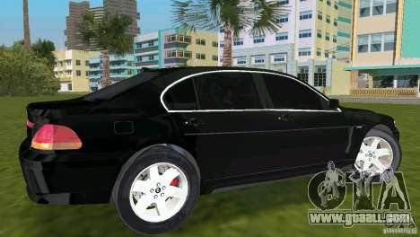 BMW 7-Series 2002 for GTA Vice City