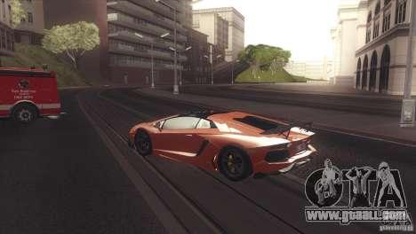 2013 Lamborghini Aventador LP700-4 Roadstar for GTA San Andreas right view