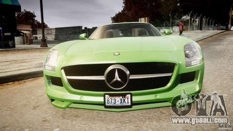 Mercedes-Benz SLS AMG 2010 [EPM] for GTA 4 engine