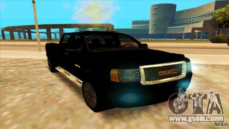 GMC Sierra 2011 for GTA San Andreas right view