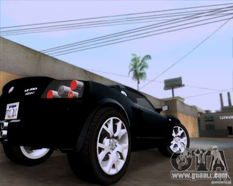 Vauxhall VX220 Turbo for GTA San Andreas back view