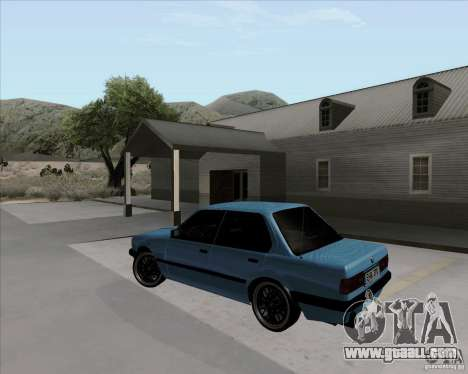 BMW M3 E30 323i street for GTA San Andreas left view